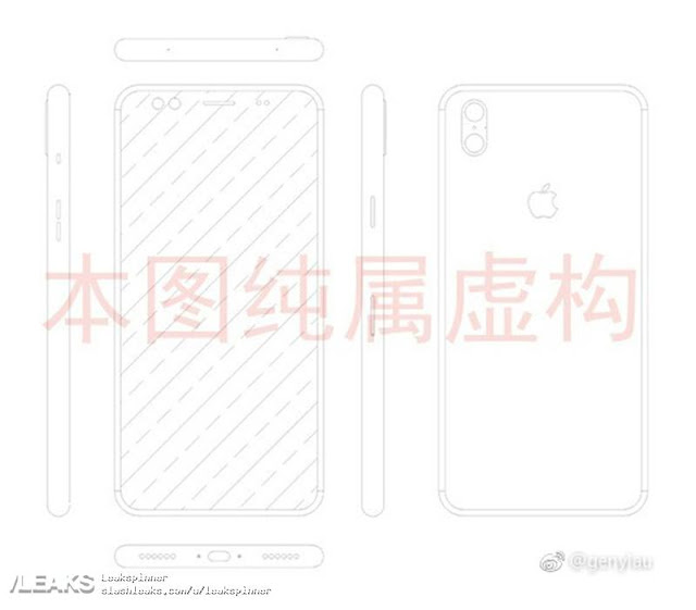 Alleged IPhone 8 / IPhone X Schematics Shows Vertical Dual