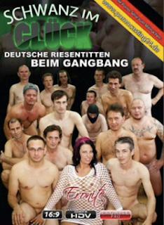 Schwanz im Glück: Deutsche Riesentitten Beim Gangbang