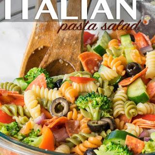 Classic Italian Pasta Salad.