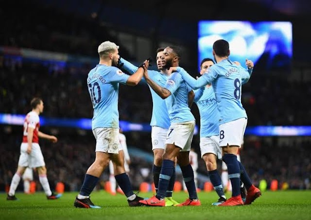 Manchester City Bounce Back From Slump As They Defeats Arsenal