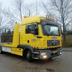 M.A.N bergingstruck van Bergnet truck 21