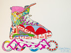 Rollerblade by Ralph Skinner