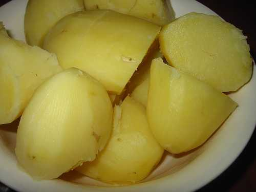 Boiled potatoes help in fat loss