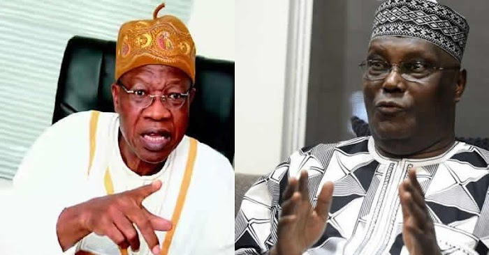 """""""If you don't know, know it now that Lai Mohammed smokes weed"""" – Atiku's spokesman"""