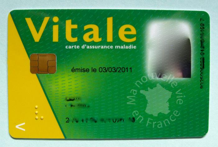 Carte Vitale Photo.Ma Nouvelle Vie En France My New Life In France La Carte