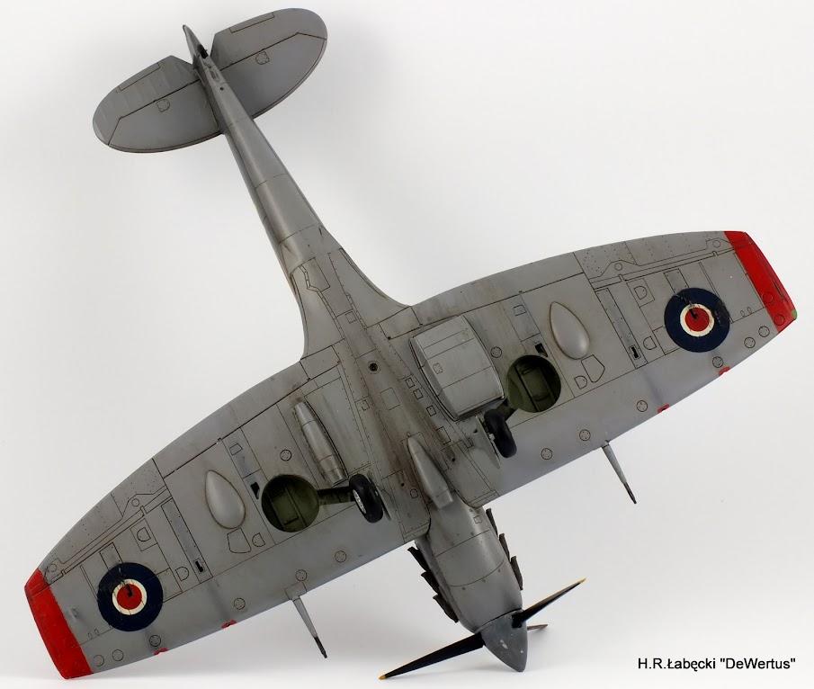 Malta 1940-43, Spitfire Mk.Vb, 249 Sqn RAF, Tamiya 1/48 DSCF4172
