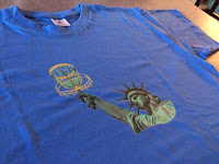 Lady Liberty plays Disc Golf - skizzeria.at