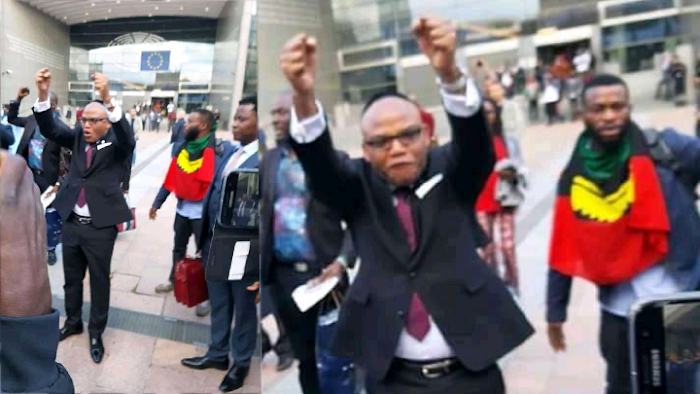 """""""We'll not disclose Nnamdi Kanu's discussion with EU parliamentarians for our own interest"""" - IPOB"""