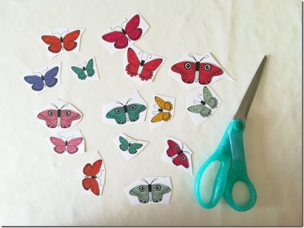 STEP 2 -Scrapbook Layout - Fussy Cutting e Hand Stitching
