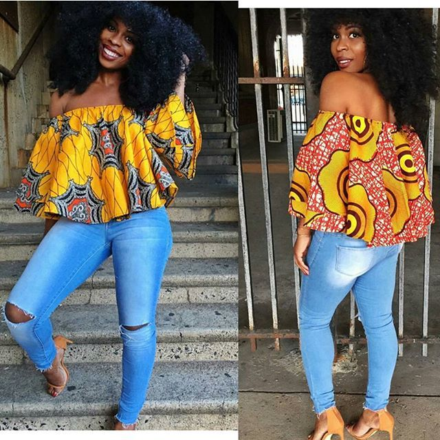 AMAZING OUTFITS OFF SHOULDER TOPS FOR SOUTH AFRICAN GIRLS 1