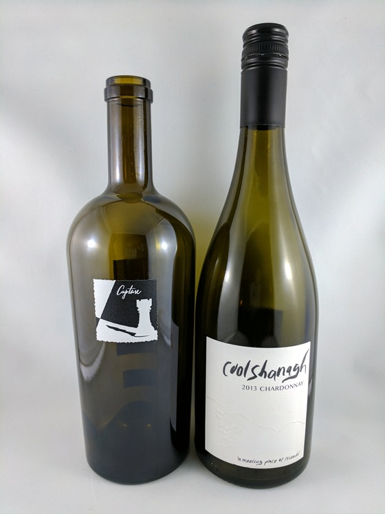 Checkmate 2013 Capture Chardonnay & Coolshanagh 2013 Chardonnay