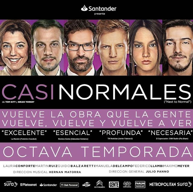 CASI NORMALES regresa a la Calle Corrientes en su 8va Temporada