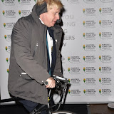 OIC - ENTSIMAGES.COM - Boris Johnson leaving at the  Mayors Fund Halcyon Gallery London 24th November 2015Photo Mobis Photos/OIC 0203 174 1069