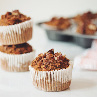 Vegan Pumpkin Spice Muffins →
