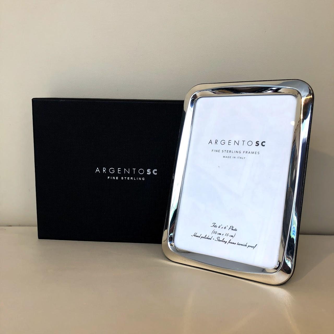Argento Sc New Sterling Silver Hammered Frame 5x7 Shophousingworks