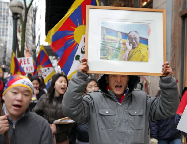 Global Protest: 52nd Commemoration of the Tibetan National Uprising Day - IMG_0052b72B.JPG
