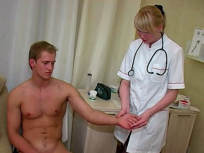 Female exam porn scene!