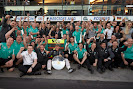 Mercedes Team celebration