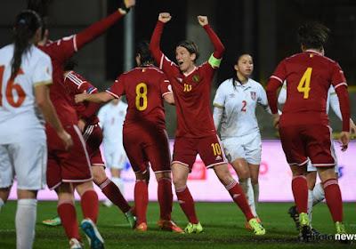 Les images du partage des Red Flames contre la Serbie