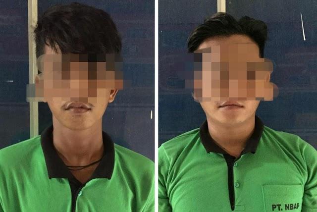 Nekat Mencuri, Dua Oknum Karyawan Ini Diamankan
