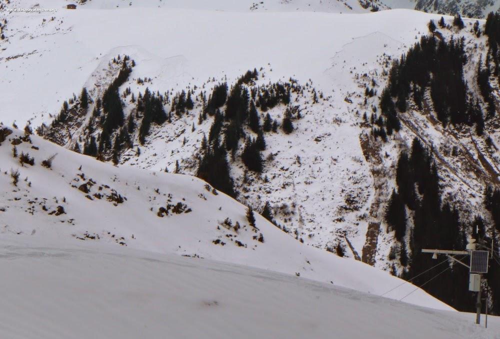 Avalanche Lauzière, secteur Pointe de Combe Bronsin, Col du Loup - Photo 1