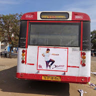 Express Raja Movie bus promotions Photos