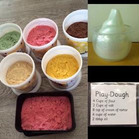 ice cream role play with playdoh playdough recipe and playroom ideas