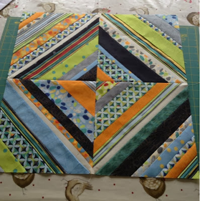 Quick, large blocks ideal for charity quilts, including links to free tutorials.
