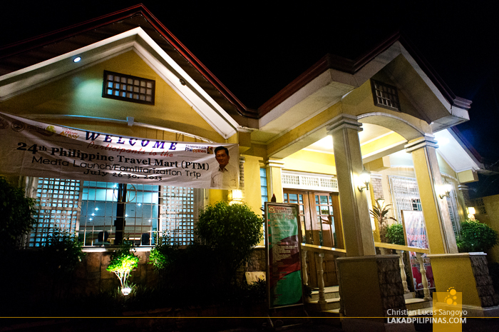 Waway's Simple Facade in Legazpi City