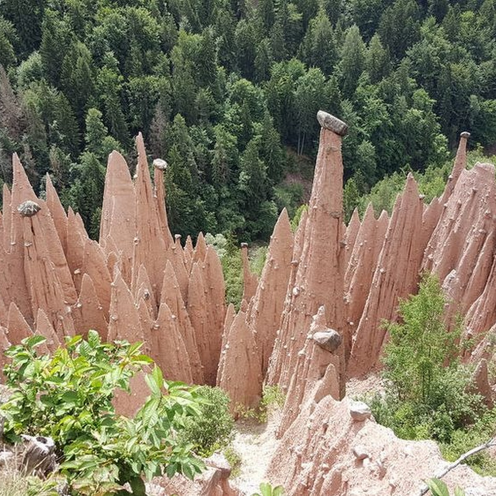 The Earth Pyramids of South Tyrol
