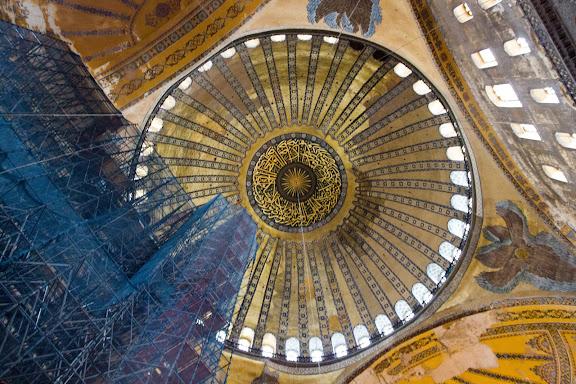 Св.Софія всередині. Стамбул