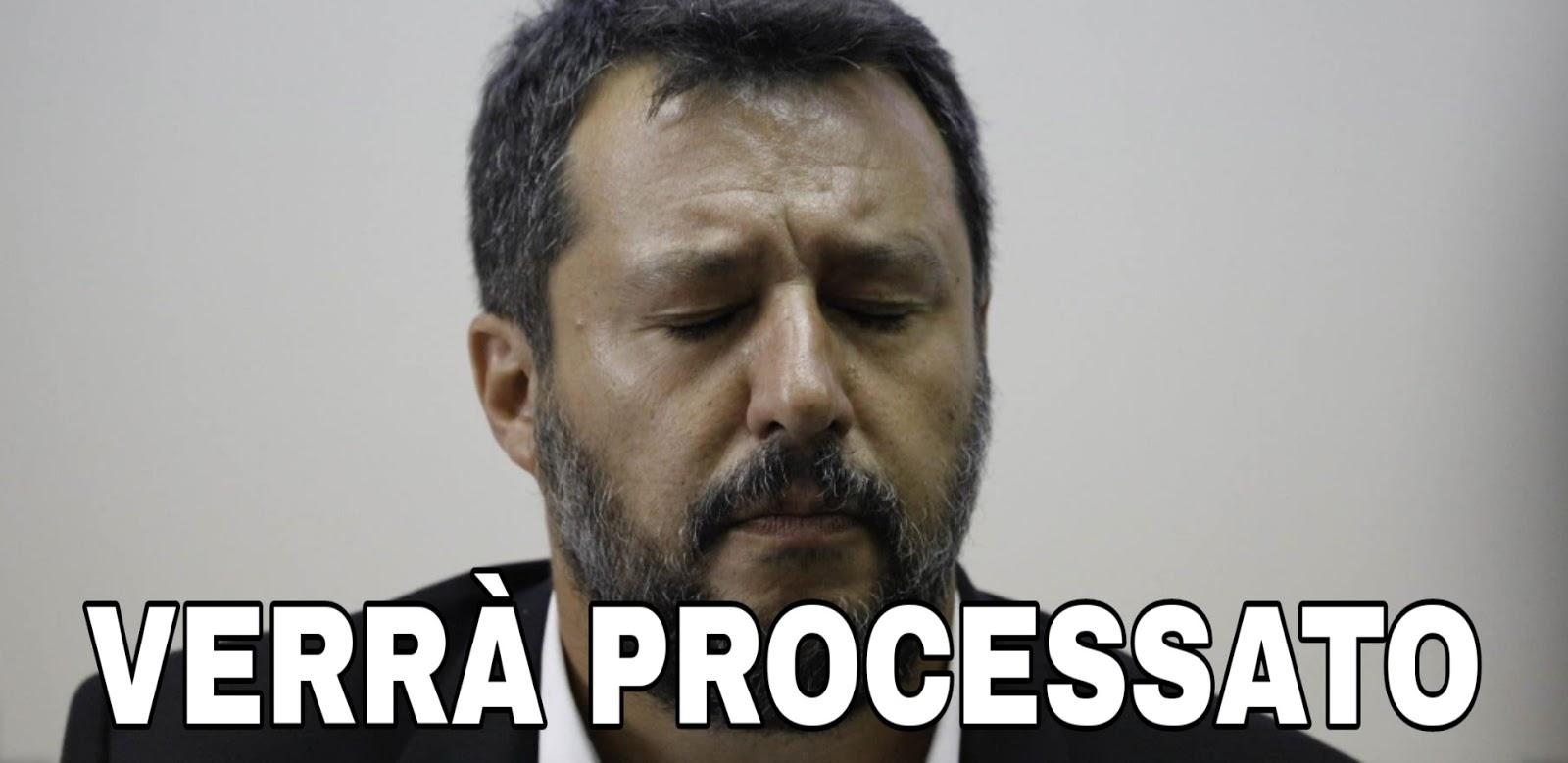 Ultim'ora: UFFICIALE, il Senato autorizza il processo a Matteo Salvini.
