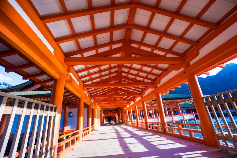 宮島 厳島神社 東回廊1
