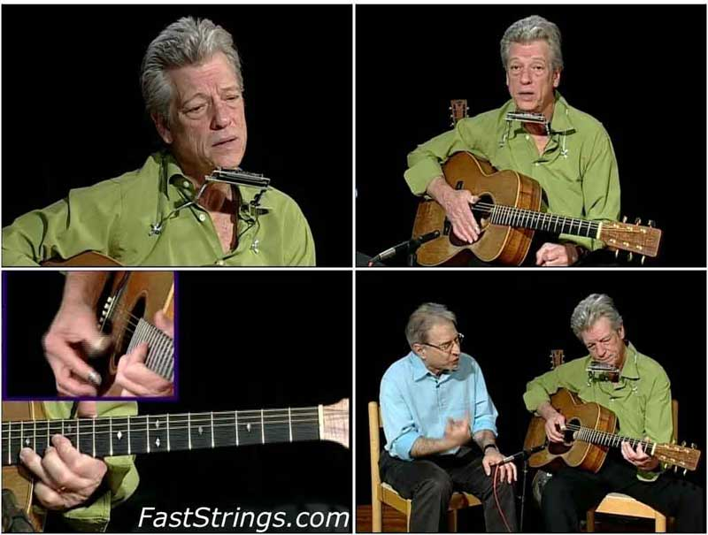 John Hammond - Learn To Play Blues Guitar & Harmonica