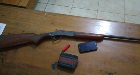 Polícia Civil prende uma pessoa por porte ilegal de arma de fogo em Ourilândia do Norte