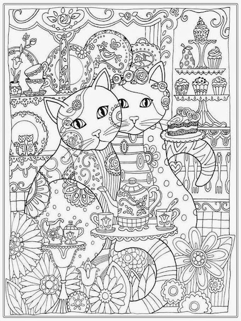 Coloring Pages Cat Coloring Pages Free Cat Coloring Pages For Adults  Bestofcoloring  Adult Realistic Pages