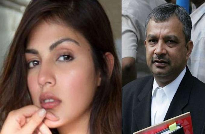 Rhea Chakraborty Lawyer Satish Maneshinde Statement on NCB Charge Sheet