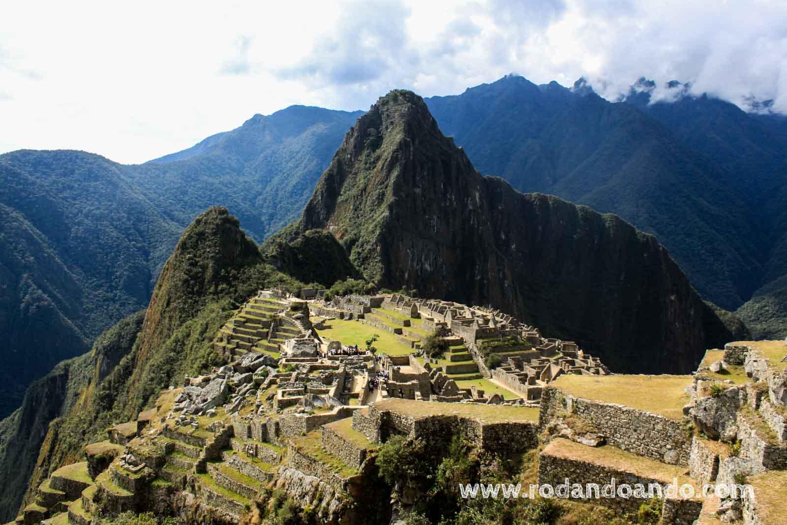 Machu Picchu, Montaña Vieja