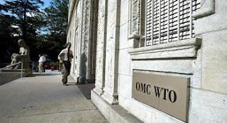 Désignation d'un autre président du groupe de travail l'OMC: reprend langue avec l'Algérie