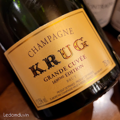 """Krug Grande Cuvée """"169ème Edition"""" NV by ©LeDomduVin 2021"""