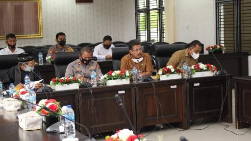 Hampir Tiap Hari Menerima  Keluhan Komisi I DPRD Kota Solok Rapat Kerja Pihak Wewenang