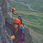 1978_6 Ian Birch & Nigel & Jackie Coe, Bridge's Route, Esk Buttress.jpg