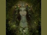 Green Elven Goddess