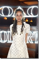 HOLLYWOOD, CA - MARCH 30:  Actor Sasha Lane attends the Coach & Rodarte celebration for their Spring 2017 Collaboration at Musso & Frank on March 30, 2017 in Hollywood, California  (Photo by Donato Sardella/Getty Images for Coach)