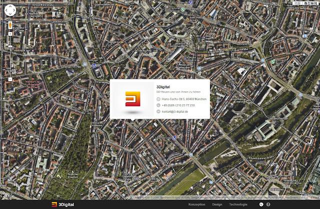 *不是Flash卻有如Flash效果的動態網站:3Digital Web Site 6