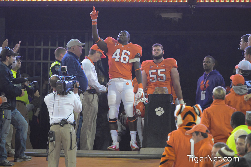 Clemson vs. South Carolina - Seniors on the Hill Photos - 2012, Football, Jonathan Willard, Seniors, South Carolina