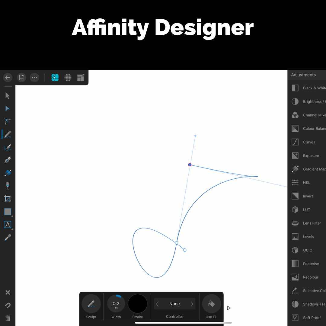 Affinity Designer iPad