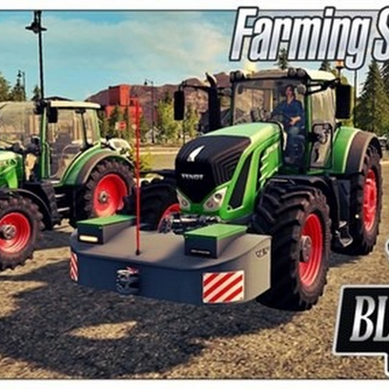 Farming simulator 2017 - Pack 2 Front weight AGRI-WELD with Fuel V 1.0.0