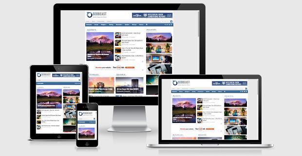 SEOBeast Responsive Premium Blogger Template