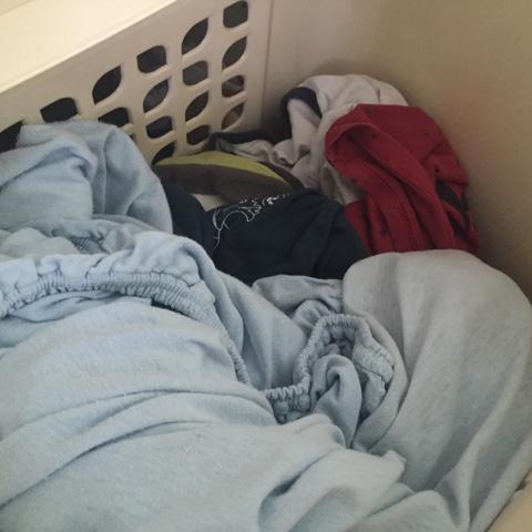 gefüllte Waschetruhe
